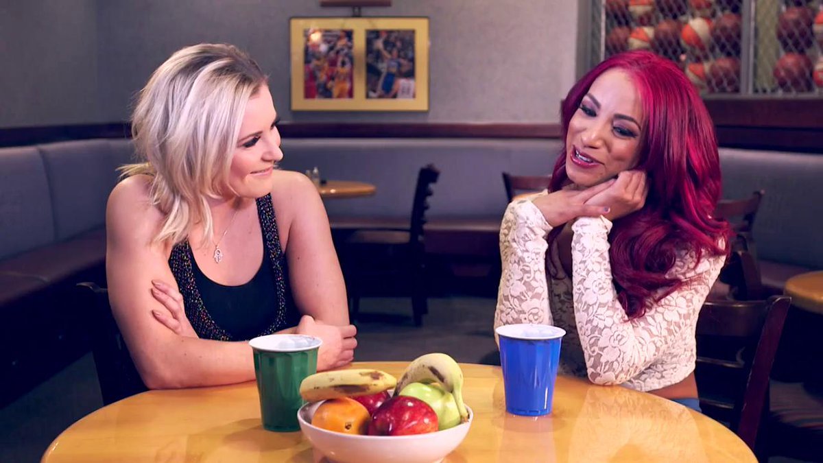 Fun fact: @SashaBanksWWE has a dream of being in a Korean movie...