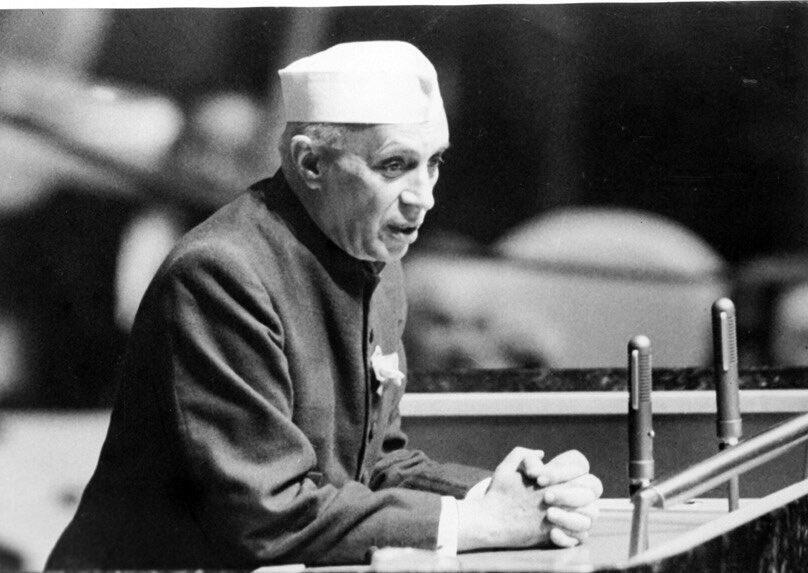 Homage Prime Minister India Shri Jawaharlal Nehru : Homage