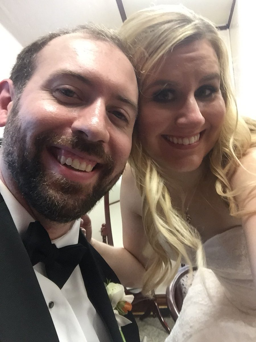 We're married!!! ❤️