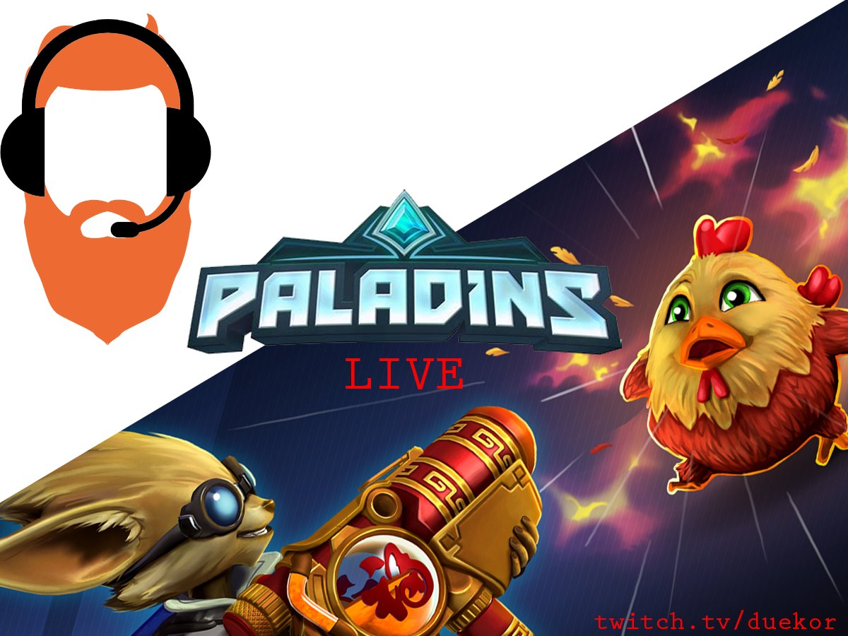 Hey all! Jumping on @PaladinsGame for a few casual games before work! Please pop in and help with that viewer average! #Pathtoafilliate  #Paladins #supportsmallstreamers @Retweet_Twitch  @SGH_RTs  @TwitchOnlineRT<br>http://pic.twitter.com/GKYXXHwF0F