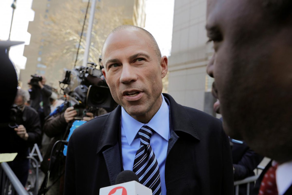Michael Avenatti: The company that paid Michael Cohen has something to hide and Trump won&#39;t finish his term  http:// bit.ly/2ILF2nP  &nbsp;  <br>http://pic.twitter.com/A7mPzmJs8t