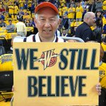Image for the Tweet beginning: #Warriors fans coming out strong