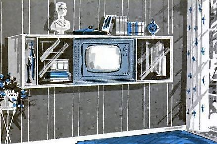 TV Cabinets, built-in TV, 1959 https://t.co/dYWOI5Syar