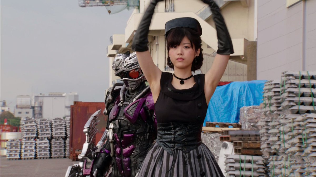 """Fumika Baba Pictures fujoshi's island on twitter: """"fumika baba plays a goth"""