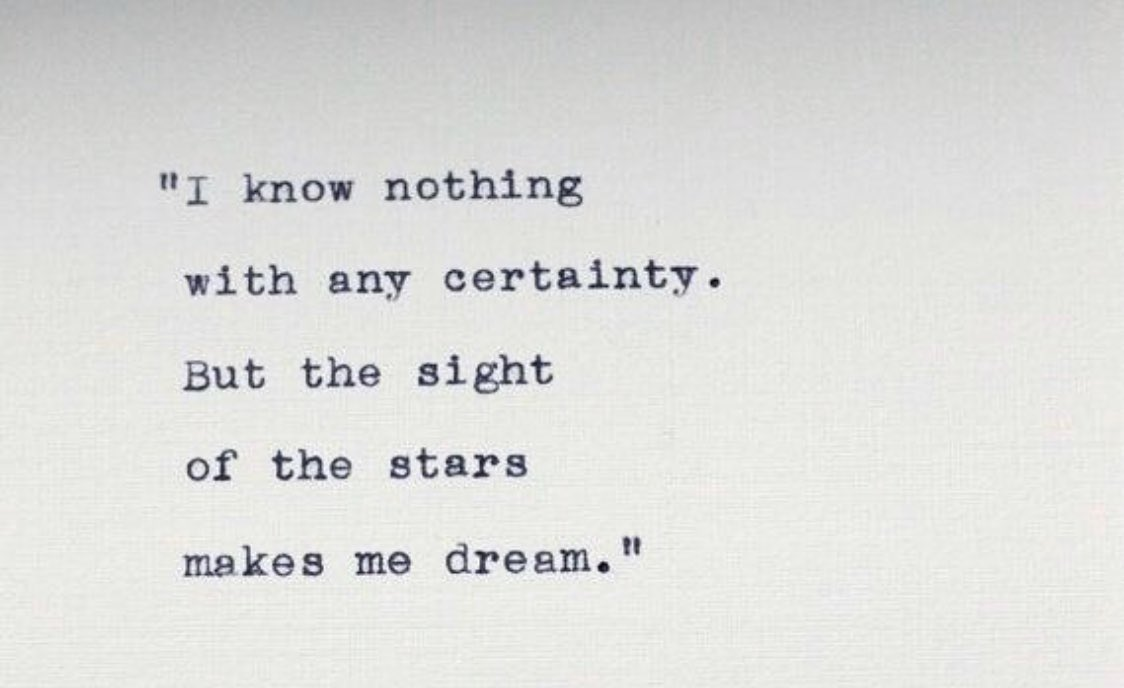 ......But the image of the stars make me dream 💫