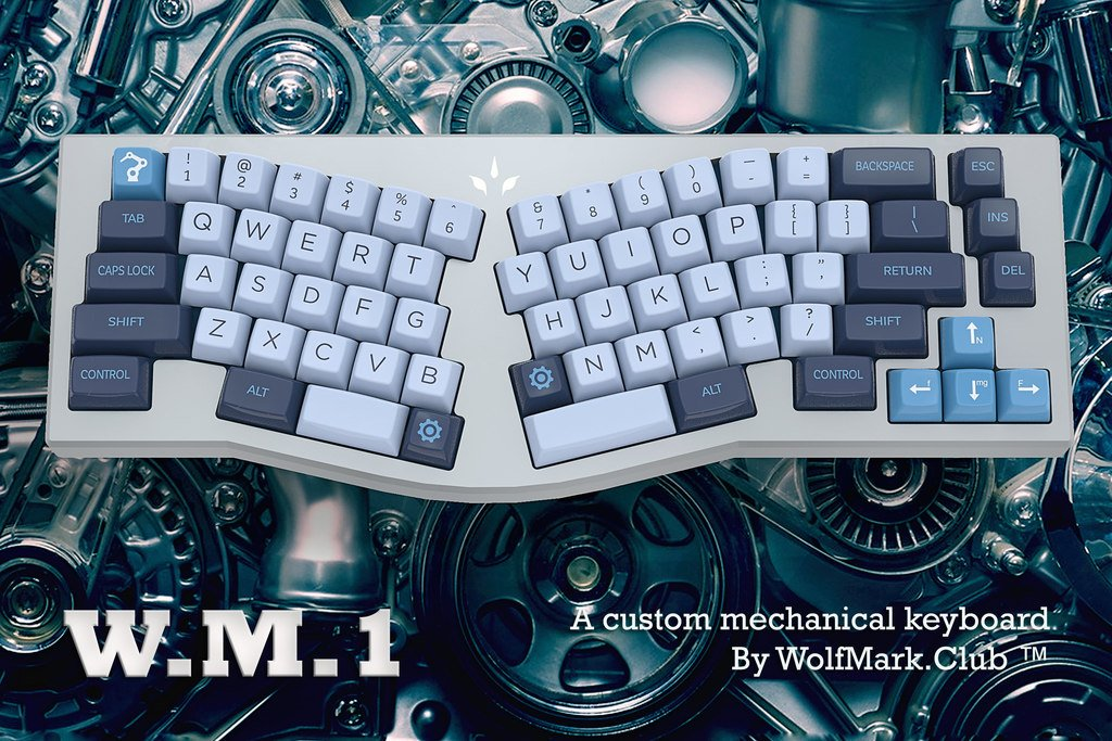 WM1 ergonimic keyboard prototype ver 1.0 developed by  http:// WolfMark.Club  &nbsp;   - Source:  https:// ift.tt/2ILaliy  &nbsp;  <br>http://pic.twitter.com/LgtOrNw9HH