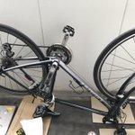Image for the Tweet beginning: 自転車のメンテナンスした in ベランダ(´・ω・`)せまい ギア磨いてタイヤとチェーン交換した