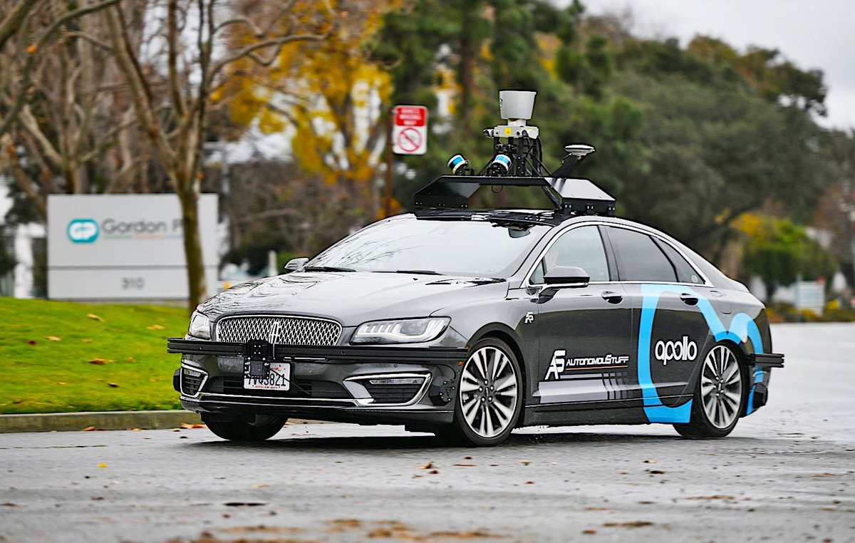 Partnered with local #carsharing #startup #Pandauto, #Baidu to trial operate #Apollo #autodriving system in #Chongqing Municipal.<br>http://pic.twitter.com/zuMCB2HOnX
