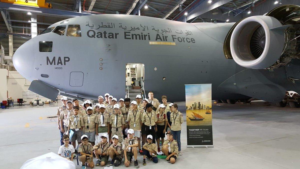 Qatar Air Force Base Map on