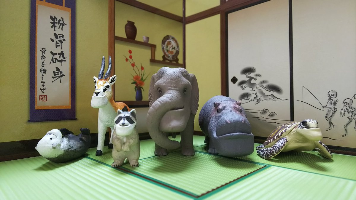 "Takara Tomy Panda/'s Ana Shakurel Planet Episode of White 1/"" Koala Figure"