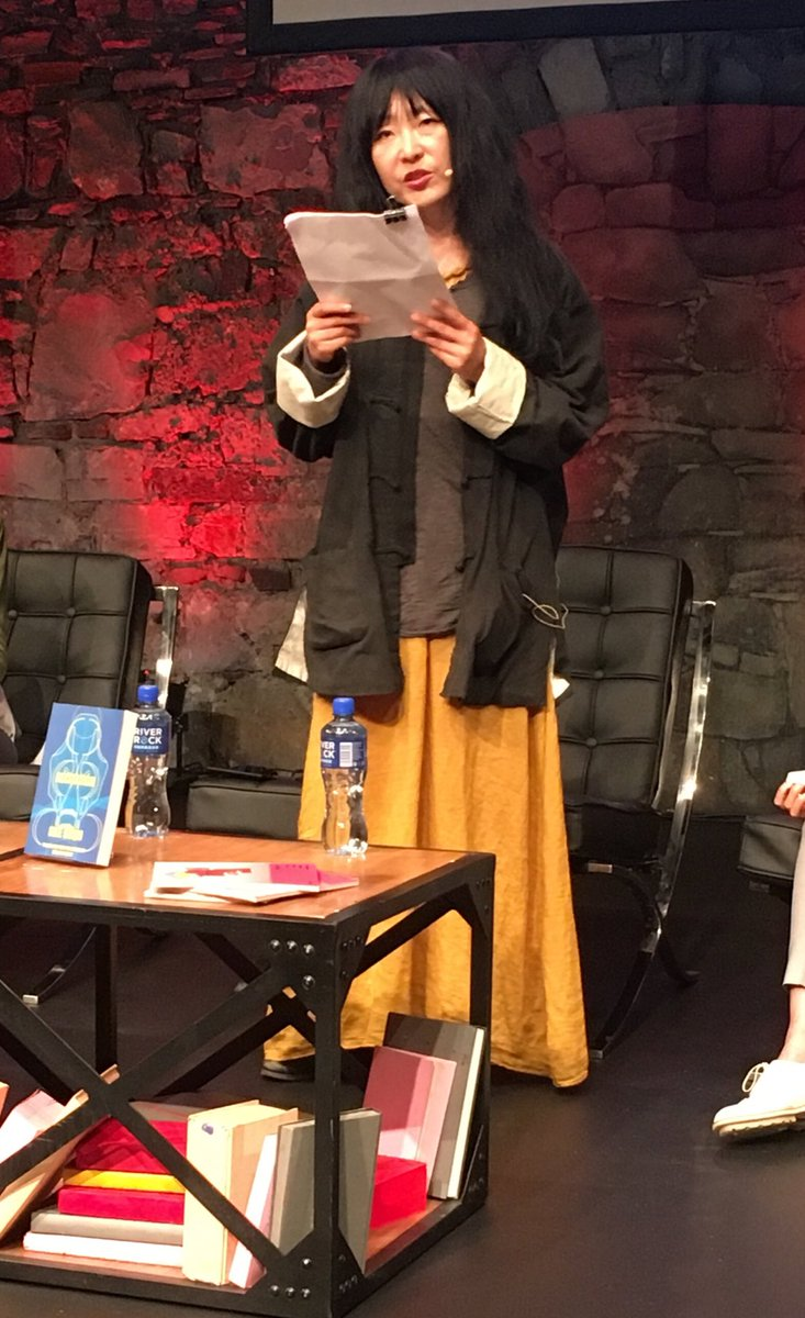 """AsiaLiteraryAgency on Twitter: """"Bae Suah reading from her ..."""