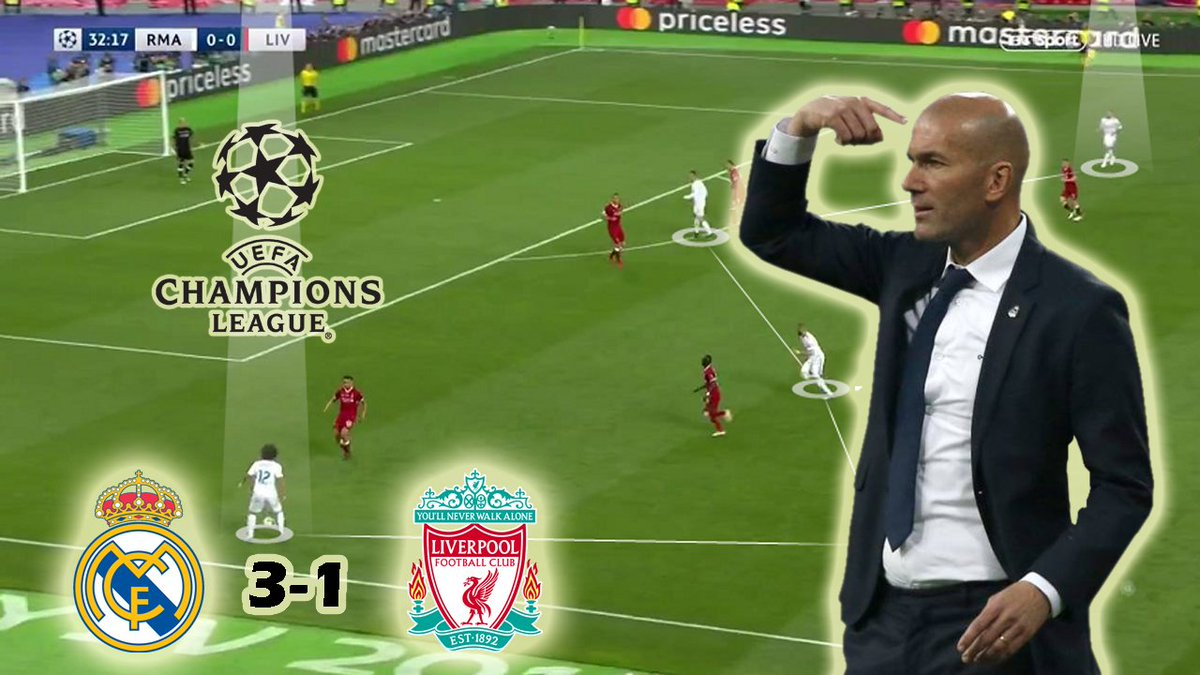 Nouman On Twitter Real Madrid Vs Liverpool 3 1 Tactical