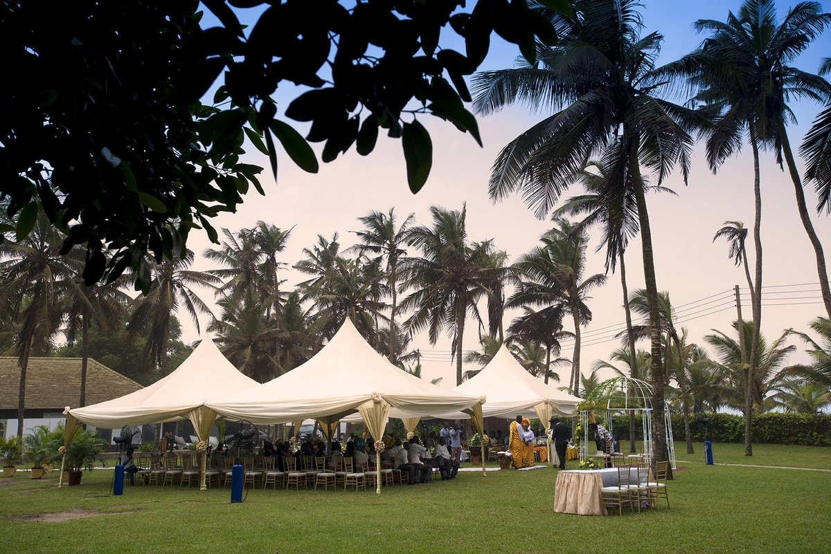 The hotel is set amidst tropical landscaped gardens, overlooking the most beautiful beaches in Ghana. Read more https://t.co/5KtnEgF0pD https://t.co/FjZC6dWQ6a