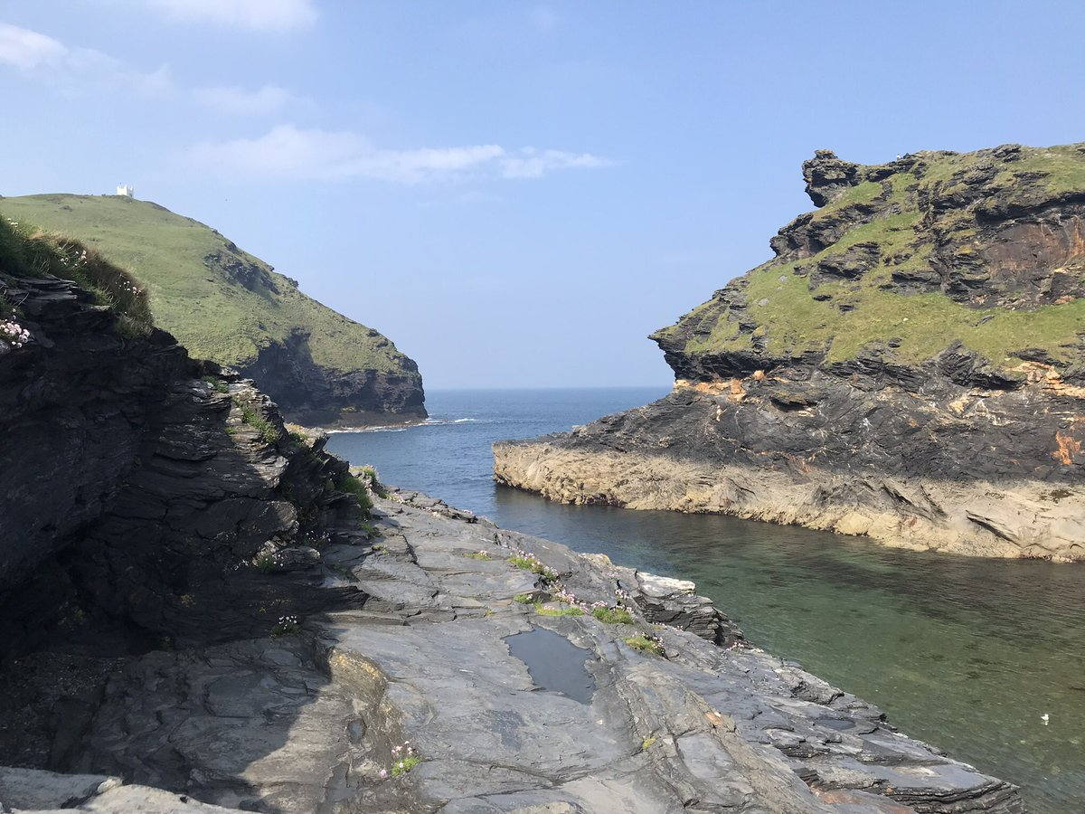 What a day... Thank you to everyone that took part in or supported our 4th annual Regatta at Boscastle. The weather gods were kind to us &amp; we had an epic day of racing.  Well done to overall winners @AppledoreGig More photos &amp; results to follow. #GigRowing #Cornwall #CleanerSeas<br>http://pic.twitter.com/TNVxP2KN60
