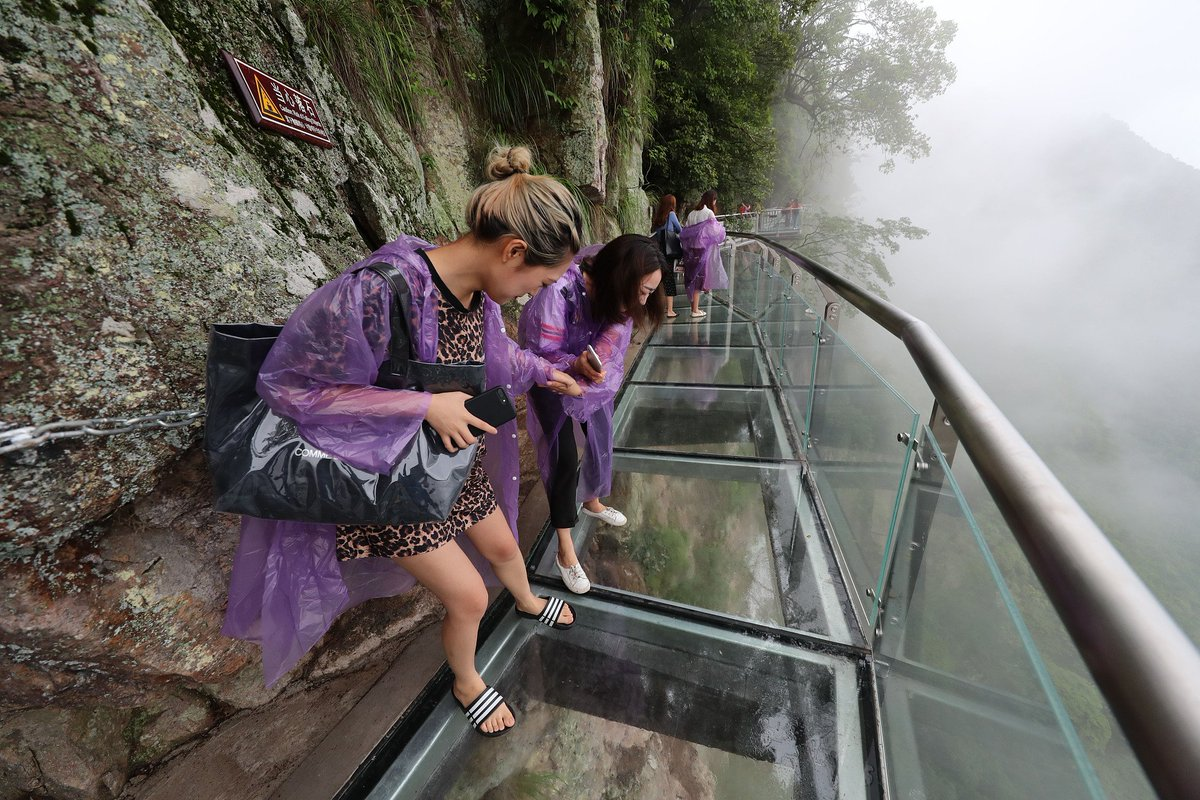 этой серии мост со стеклянным полом в китае фото ряженку