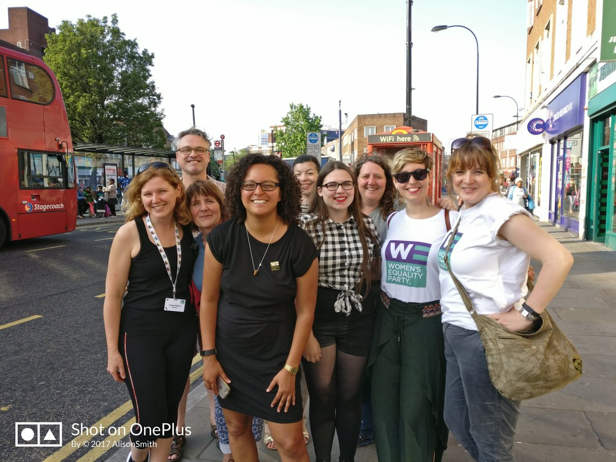 The Irish referendum result has really encouraged @WEP_UK&#39;s canvassing teams in #LewishamEast - there&#39;s no limit to what determined women can do in the cause of equality! We&#39;ll be talking to voters today about our brilliant candidate @ManduReid - #votewe @WEPLewisham<br>http://pic.twitter.com/Zwgyx3B64C