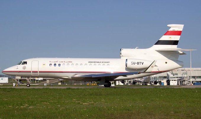 اول صور لطائرات  Dassault Falcon-7X المصريه المخصصه لنقل كبار الشخصيات  DeMYivlX0AItmqe