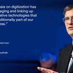 "Image for the Tweet beginning: ""Our emphasis on #digitization has"