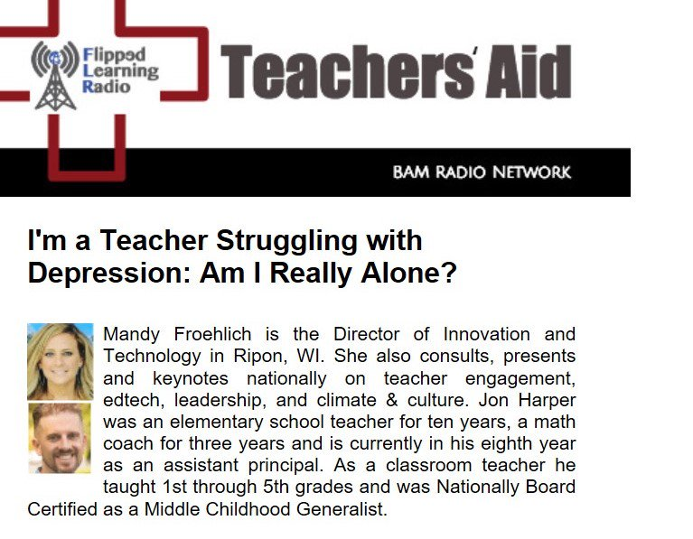 """&quot;Emotional exhaustion...""""long-term stress reaction"""" connected to the inability to cope with vulnerability, leads to a decrease in teacher self-efficacy and diminished classroom performance.&quot; Brouwers and Tomic (2000) Teachers Talk #MentalHealthAwareness  https:// bit.ly/2J9wPco  &nbsp;   <br>http://pic.twitter.com/MZNa7pENfe"""