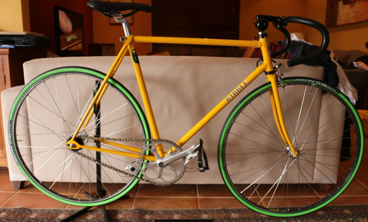 RetroRibble TeamRibble Track ClassicRibble Lets Start With A Bike From Frank West