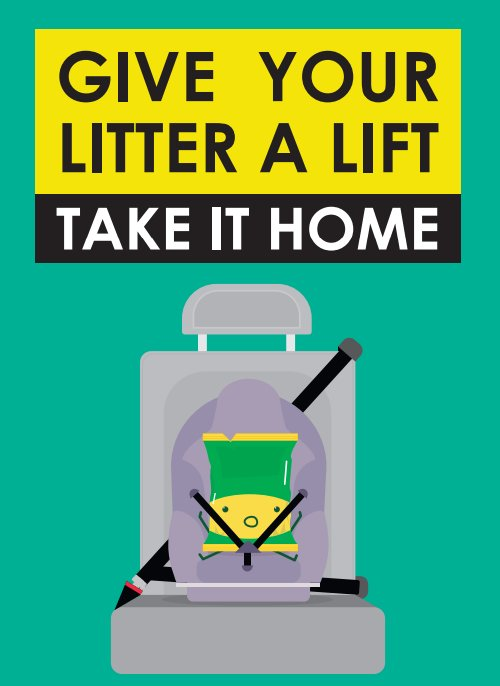 test Twitter Media - When out & about remember to take your rubbish home with you.  Keep our country beautiful #CommonCourtesy 💕 https://t.co/n5ahgWM6Xk