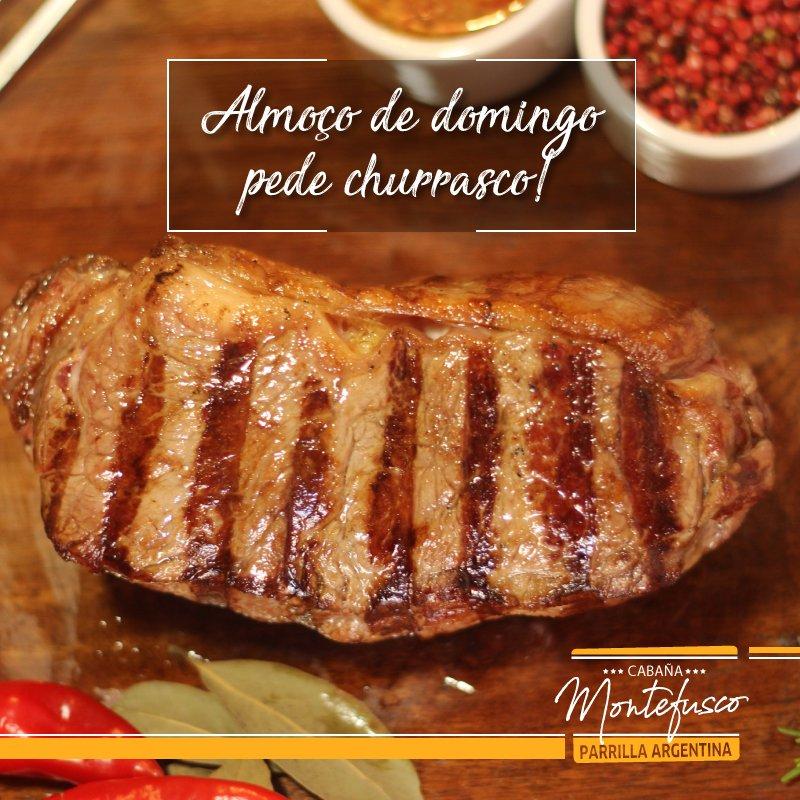 Esperamos por você com carnes altamente selecionadas pelo nosso mestre churrasqueiro, Pedro Montefusco! #CabañaMontefusco #RestauranteArgentino #BifedeChorizo #AngusCertificado pic.twitter.com/oREHgssi14