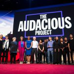 Image for the Tweet beginning: The Audacious Project is looking