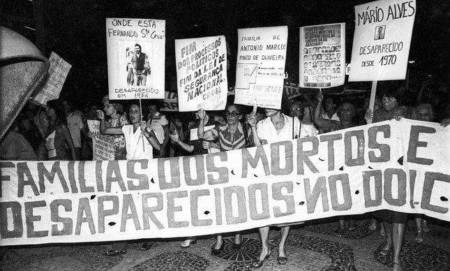 .@laurojardim: Divisão que trata de mortos e desaparecidos políticos está sem direção desde março. https://t.co/AbWOJZBAeD