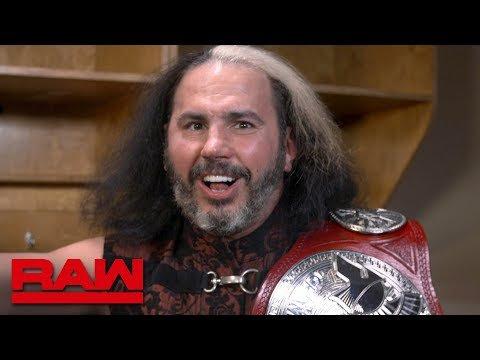 "\""Woken\"" Matt Hardy wishes Bray Wyatt a Happy Birthday: Raw Exclusive, May 23, 2018"