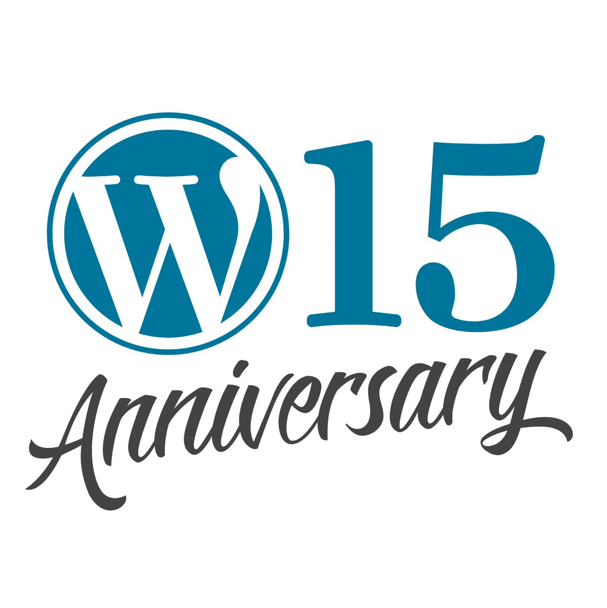 Today, we are celebrating the WordPress 15th anniversary ????????  https://t.co/kFmy1QiHNN #wp15 https://t.co/A2vDED5qSv
