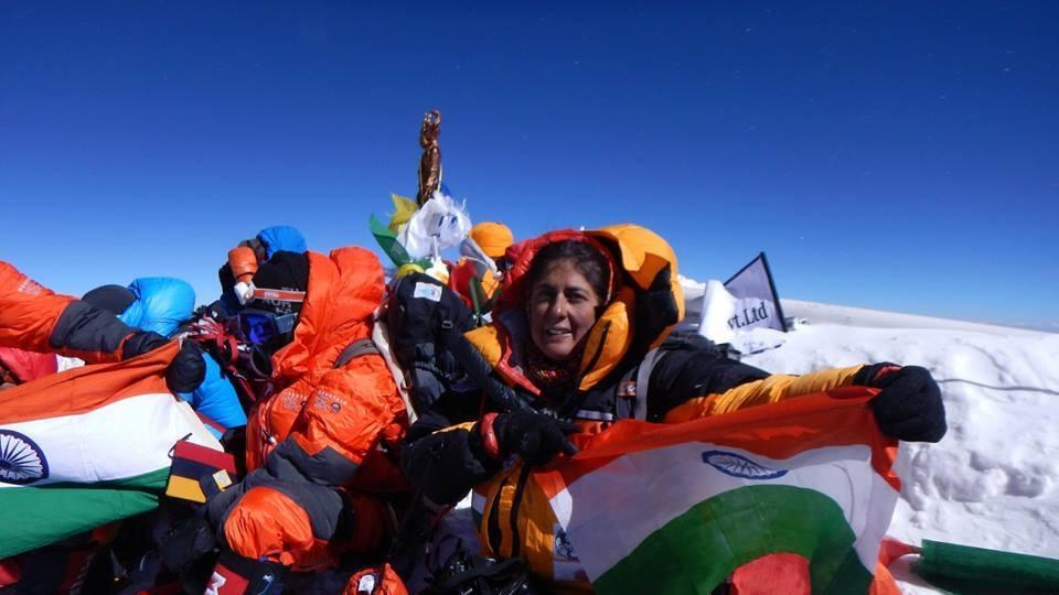 Sangeeta Bahl, 53, becomes oldest Indian woman to scale Mount Everest https://t.co/zvwQceKWdy