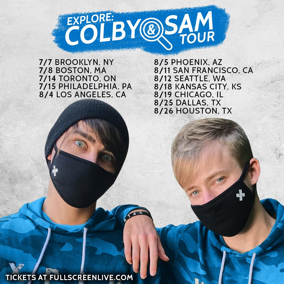 Sam And Colby On Twitter Soooo We Are Going On