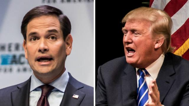 Rubio breaks with Trump: FBI investigated 'suspicious' individuals, not Trump campaign https://t.co/qYhxLPFVFn