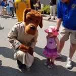 Image for the Tweet beginning: McGruff taking part in the
