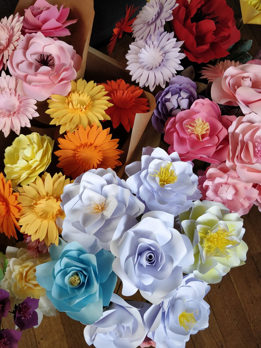 Arloarts On Twitter Lots Of Paper Flowers Available In My Shop