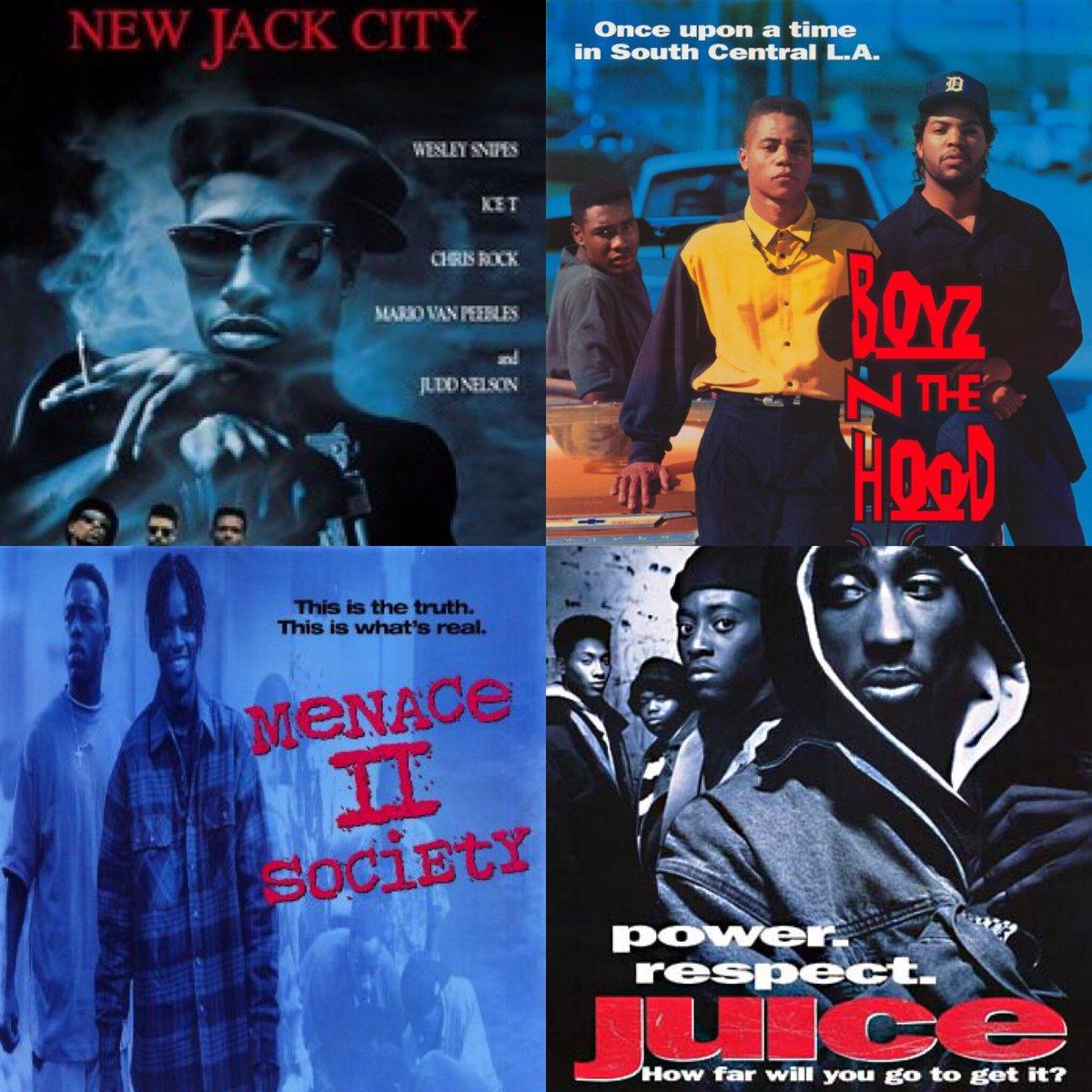 New Jack City Boyz n The Hood Menace II Society  Juice #1GottaGo