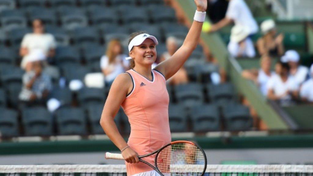 Defending champion Ostapenko crashes in Roland Garros first round https://t.co/Qu7WWNB2xc