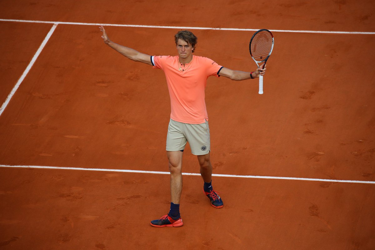 Sascha's Time  Alexander Zverev looks ready for a Slam breakthrough after thrashing Ricardas Berankis in the opening round: https://t.co/LmoOC6QPCb  #RG18