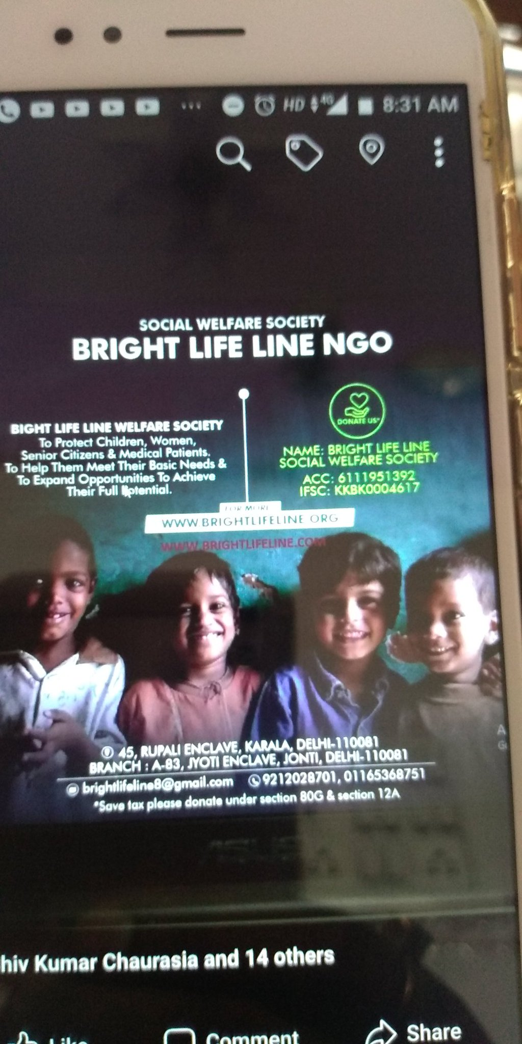 Happy birthday to u sir my NGO
