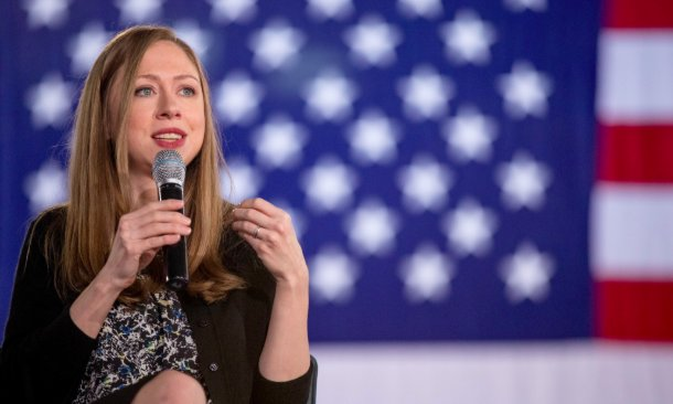Chelsea Clinton: Trump is degrading what it means to be American https://t.co/zdUK8w793y