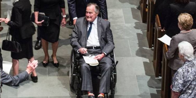 #BREAKING George H.W. Bush hospitalized for low blood pressure, fatigue https://t.co/ipKh8bsH5P