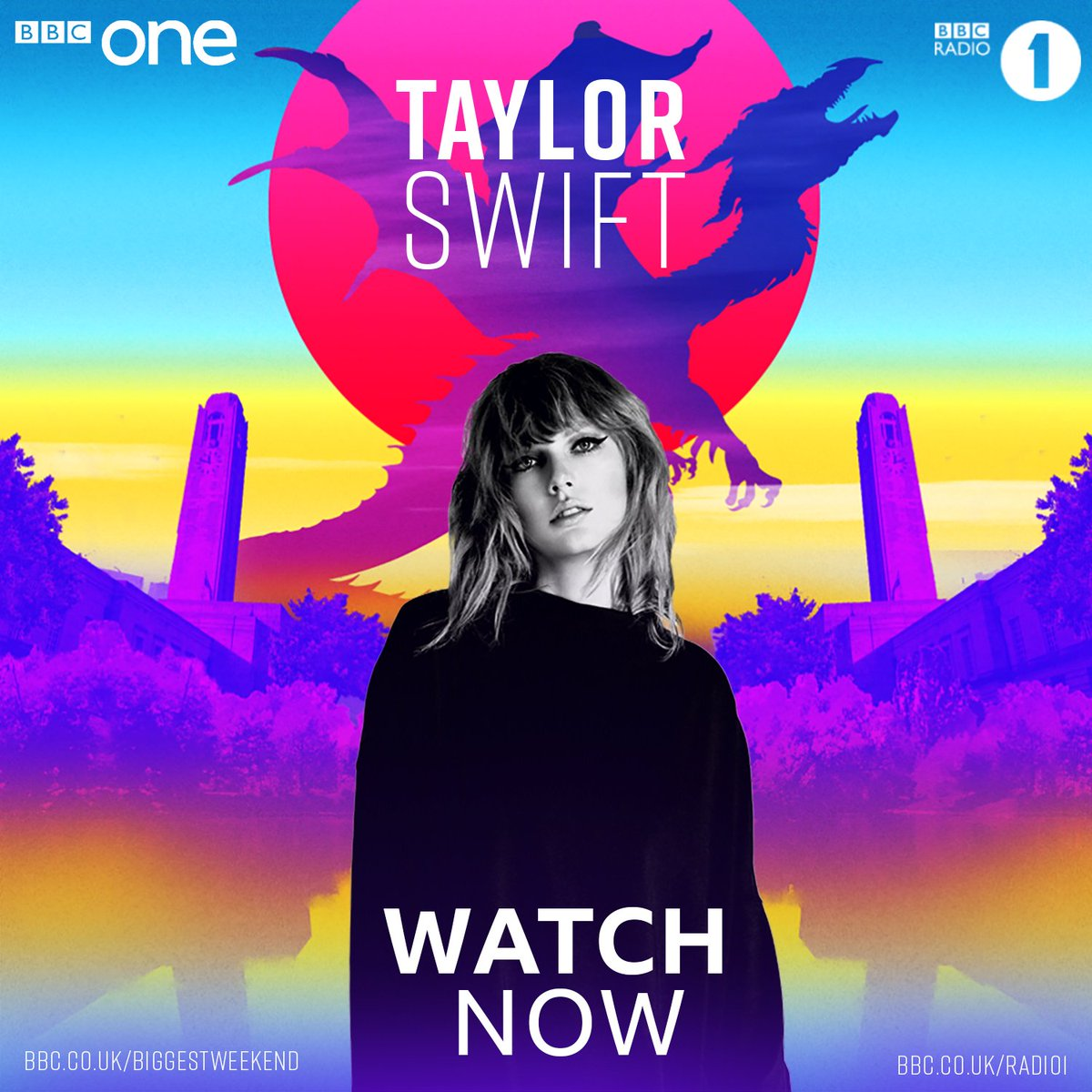 ARE YOU READY FOR IT!? It's @taylorswift13 on @bbcone right...NOW. #BiggestWeekend
