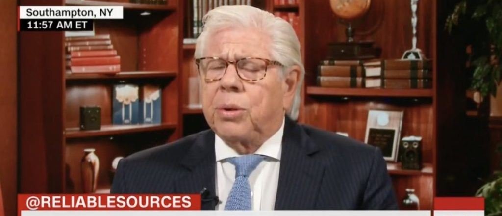 CNN Analyst Carl Bernstein Warns Trump May 'Take Us To An Authoritarian Place'[VIDEO] https://t.co/Gc88FEBh1W