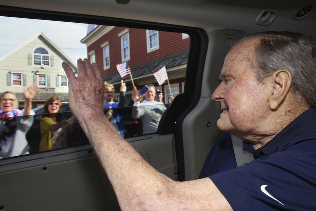 George H.W. Bush is hospitalized in Maine with low blood pressure https://t.co/xUlHn0QJyJ