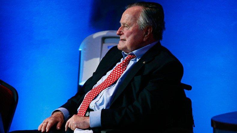 Former US President George H.W. #Bush hospitalised https://t.co/GhUWFuduKg
