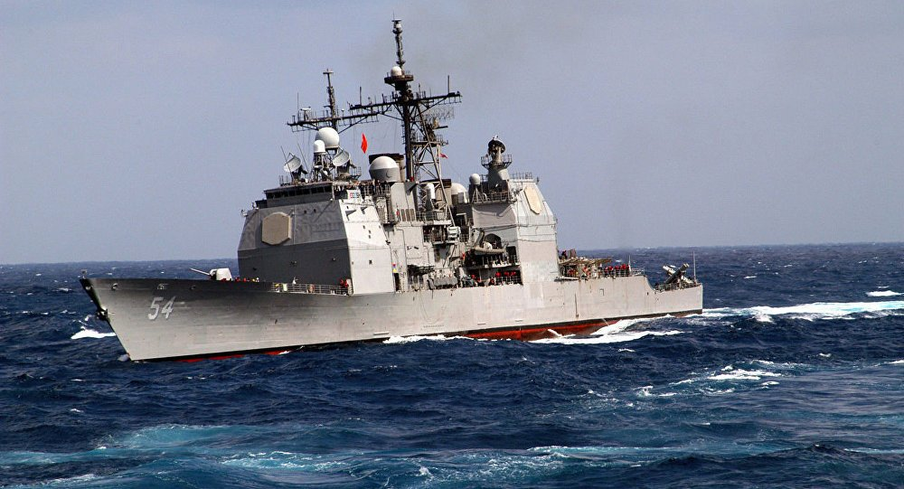 US warships enter disputed #SouthChinaSea waters, Beijing slams the move https://t.co/cpEL9k15WE
