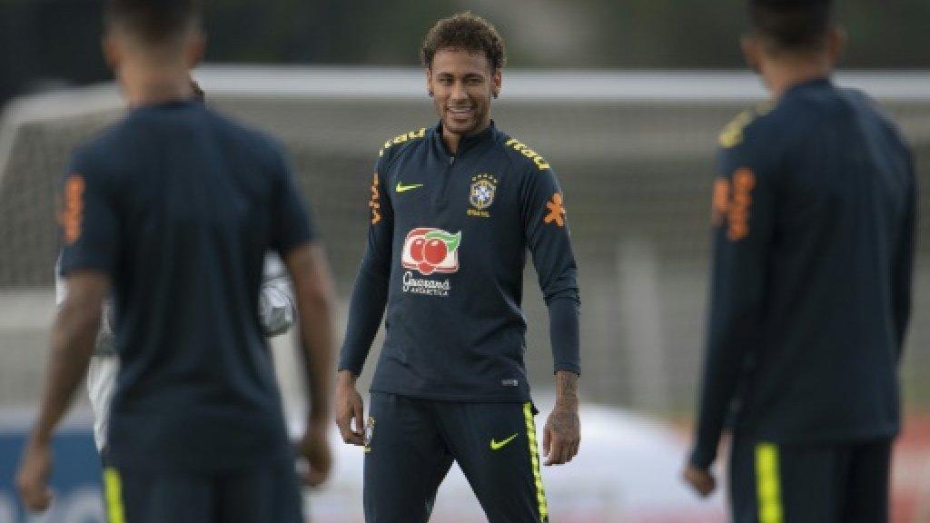 Neymar 'not yet 100%' but ready to play for Brazil https://t.co/2u0o1w4zhr