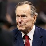 Image for the Tweet beginning: George H.W. Bush hospitalized for