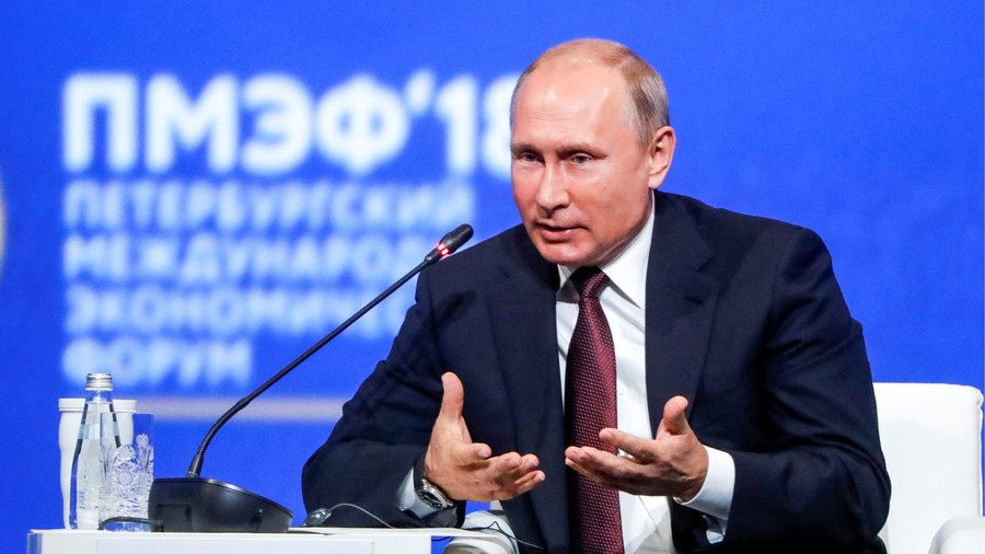 #Putin: 'Europe depends on the US for defense. Don't worry about it – we will help' https://t.co/uc50VZsD4J