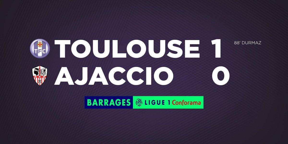 Toulouse-AC Ajaccio